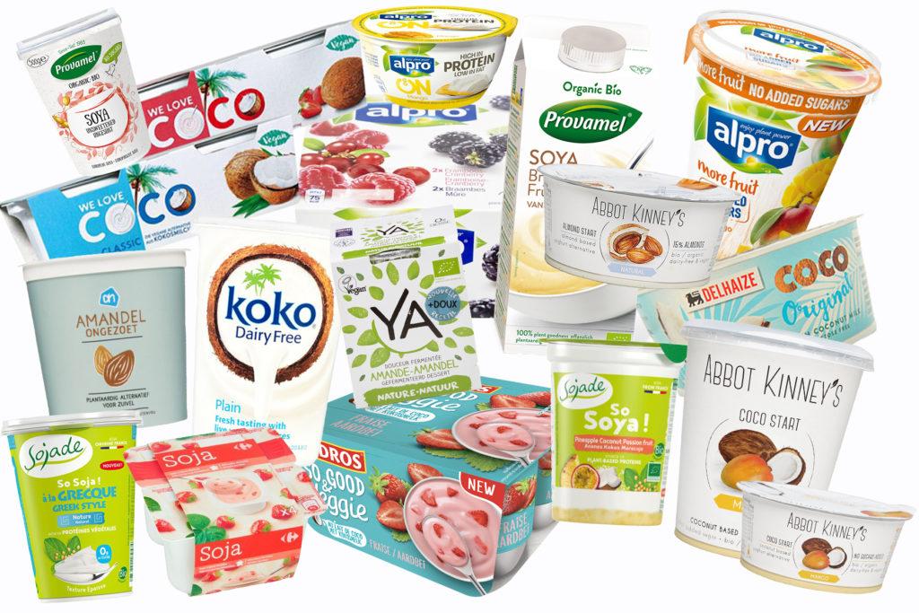 plantaardige yoghurt